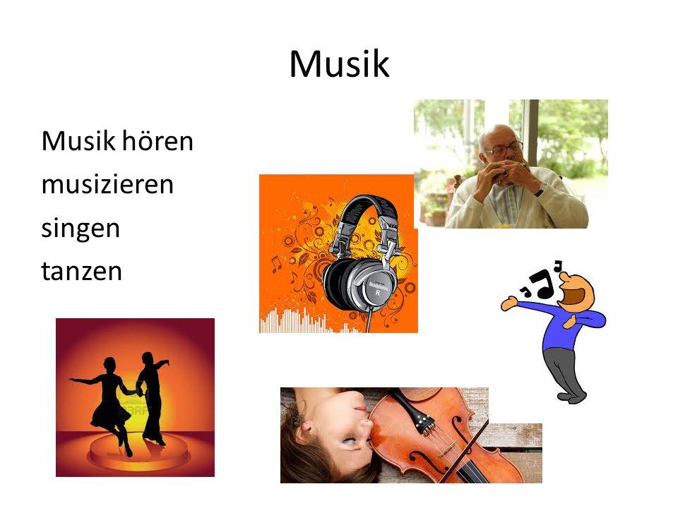 Musik Musik hören musizieren singen tanzen