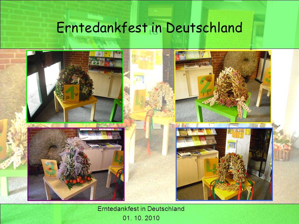Erntedankfest in Deutschland
