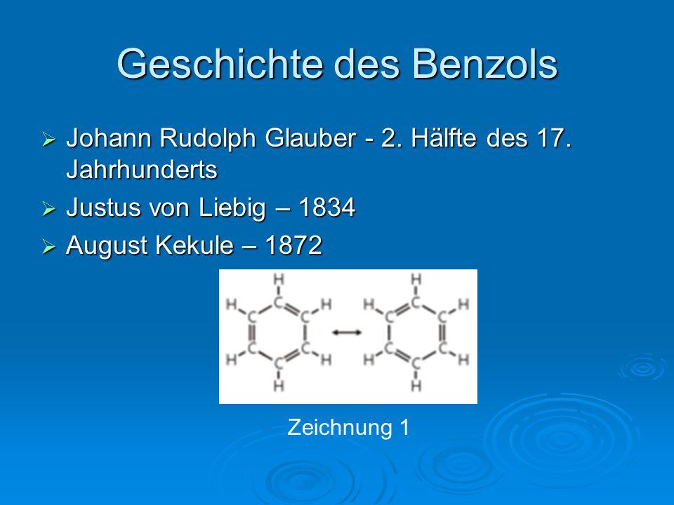 Geschichte des Benzols