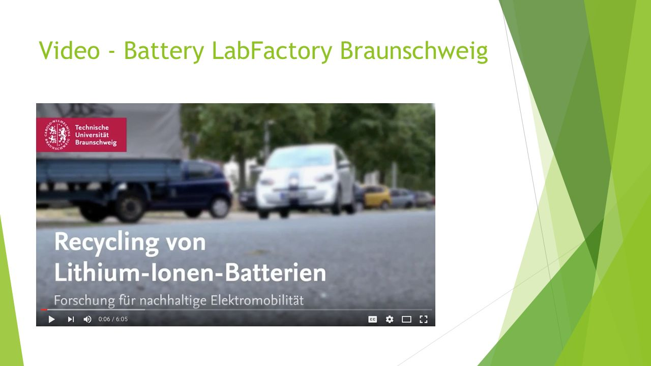 Video - Battery LabFactory Braunschweig