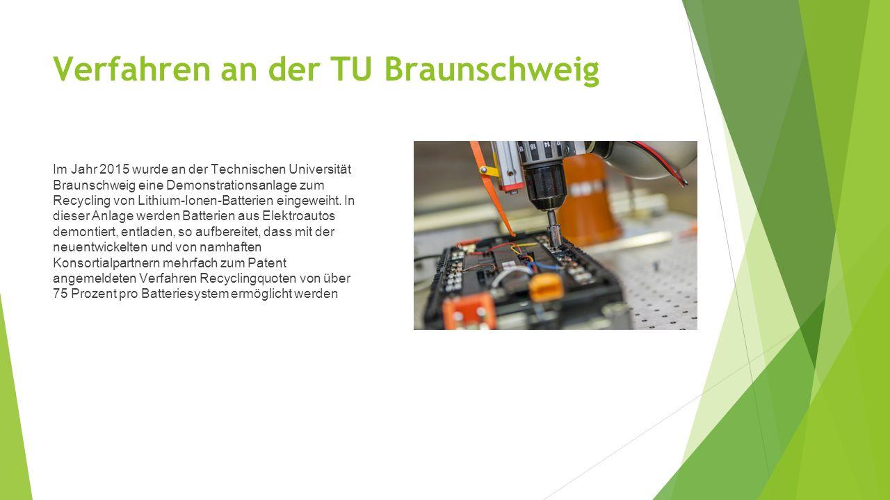 Verfahren an der TU Braunschweig