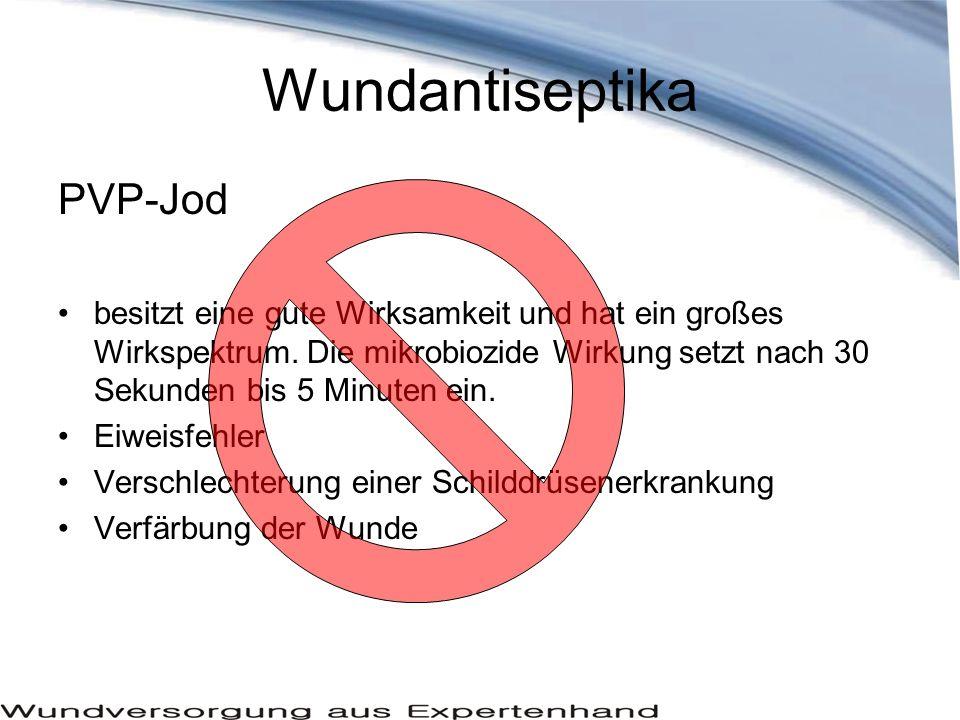 Wundantiseptika PVP-Jod