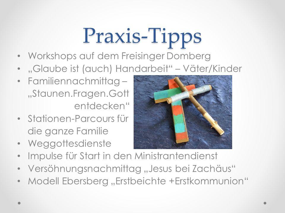 Praxis-Tipps Workshops auf dem Freisinger Domberg