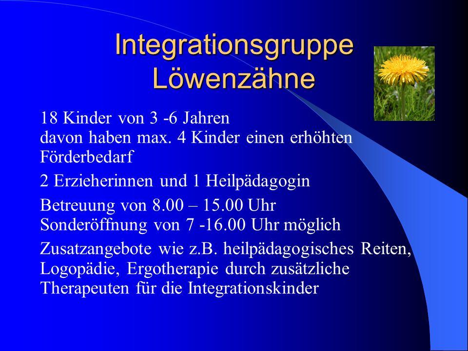 Integrationsgruppe Löwenzähne