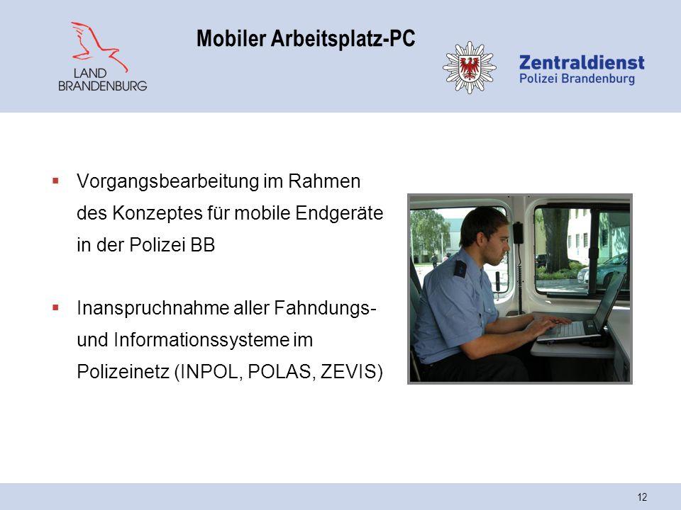 Mobiler Arbeitsplatz-PC