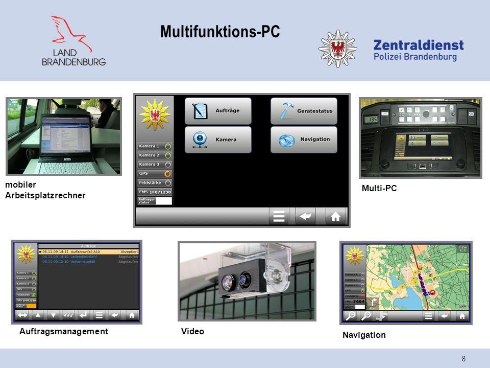 Multifunktions-PC mobiler Arbeitsplatzrechner Multi-PC