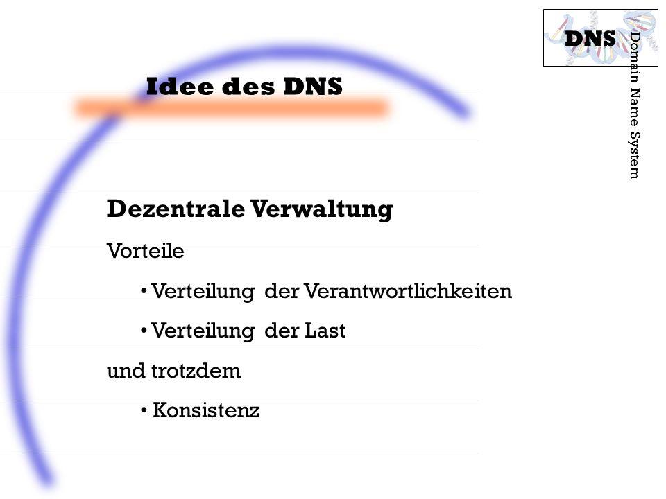 Dezentrale Verwaltung