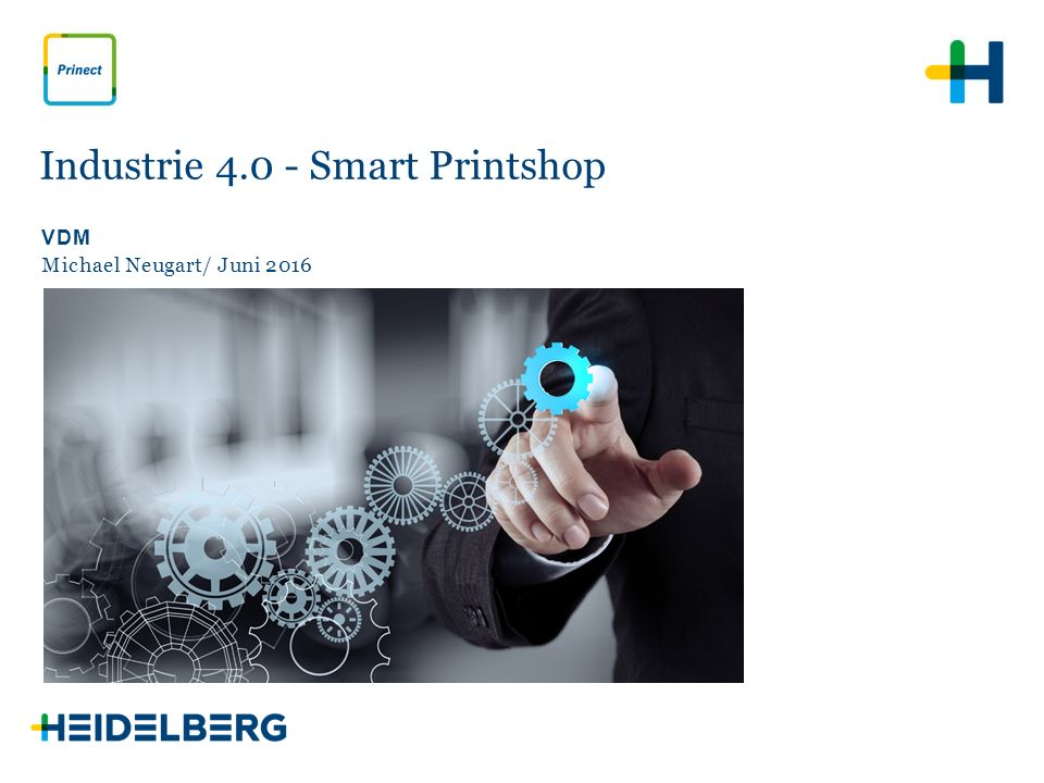 Industrie 4.0 - Smart Printshop