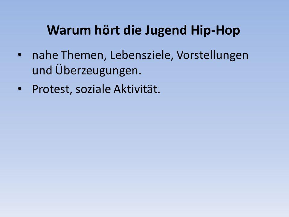 Warum hört die Jugend Hip-Hop