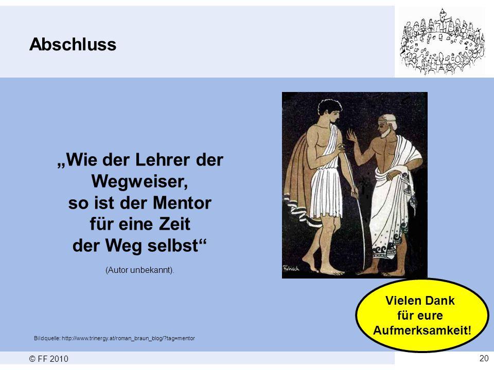 """""""Wie der Lehrer der Wegweiser,"""