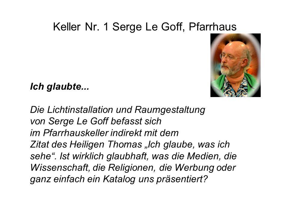 Keller Nr. 1 Serge Le Goff, Pfarrhaus