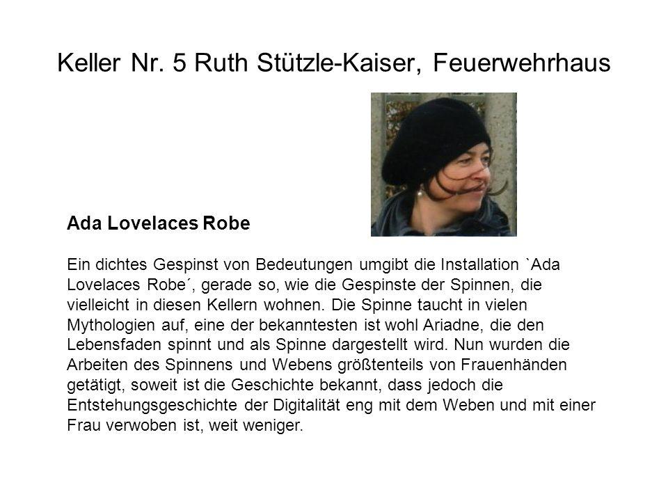 Keller Nr. 5 Ruth Stützle-Kaiser, Feuerwehrhaus