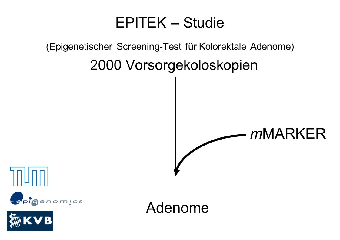 EPITEK – Studie (Epigenetischer Screening-Test für Kolorektale Adenome)