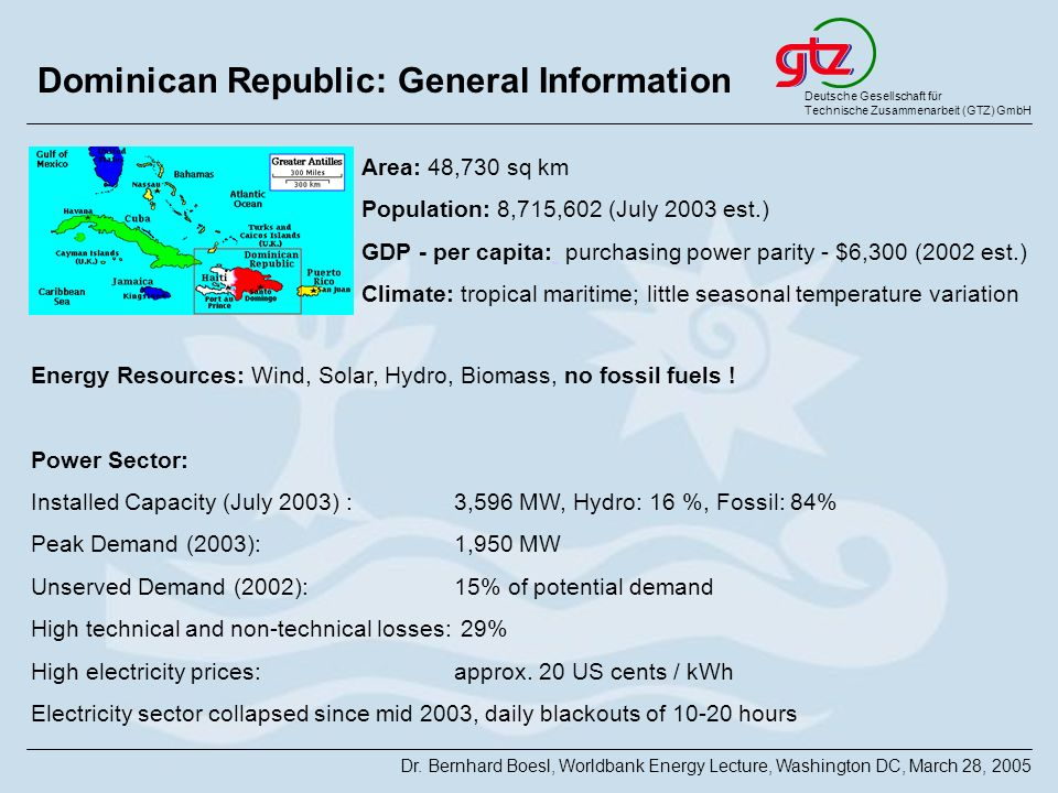 Dominican Republic: General Information