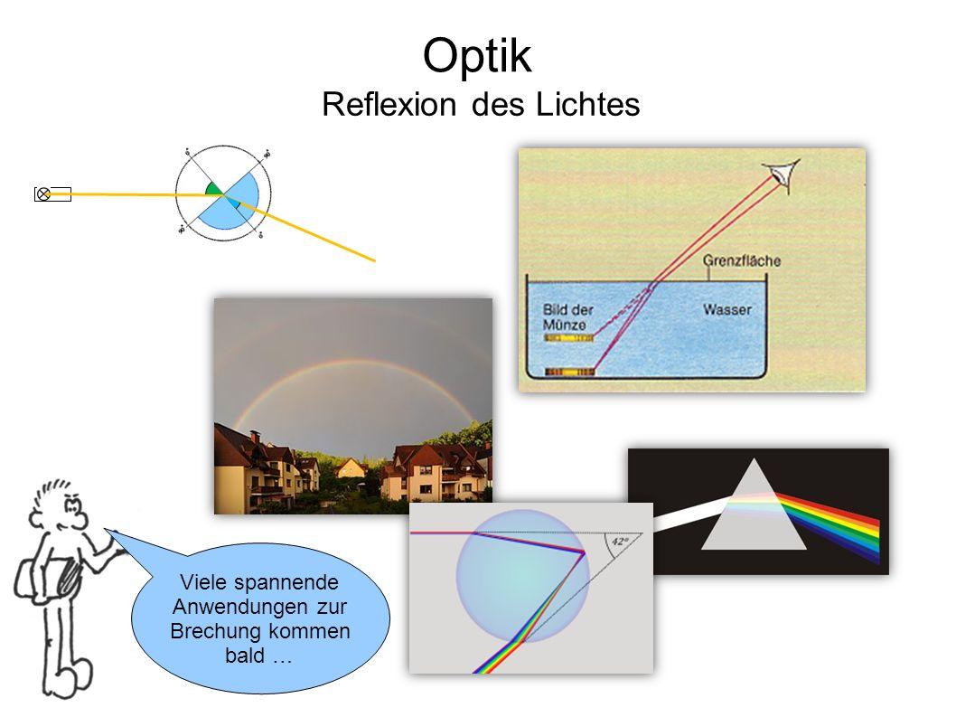 Optik Reflexion des Lichtes Viele spannende Anwendungen zur