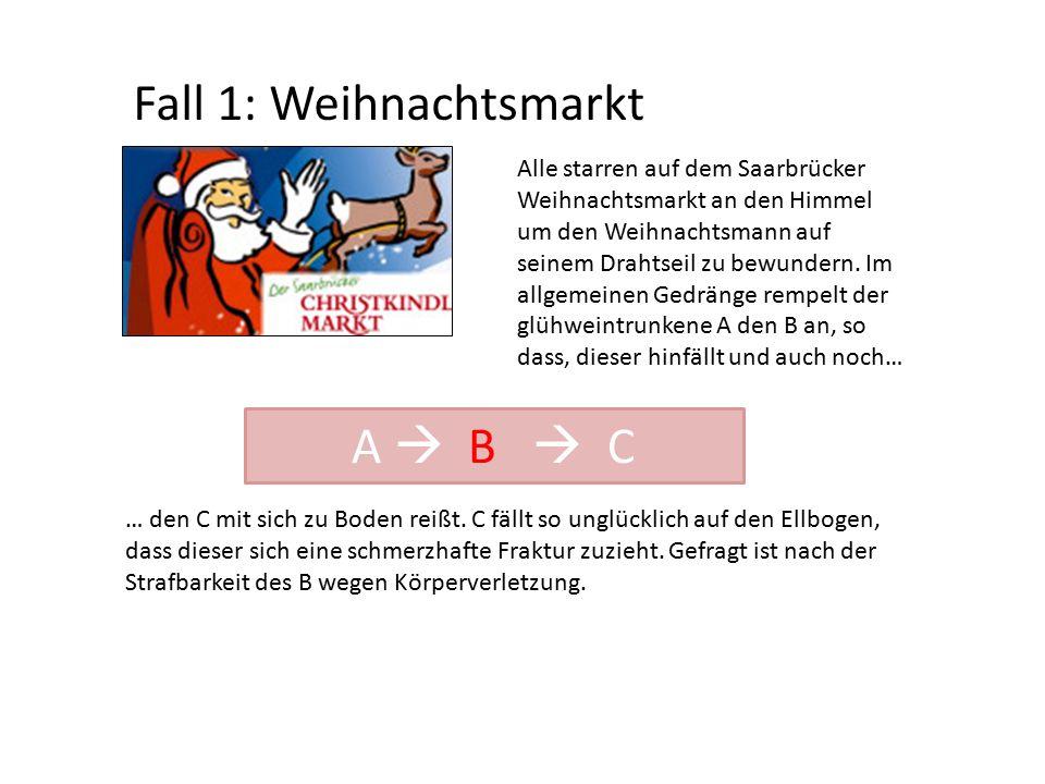 Fall 1: Weihnachtsmarkt