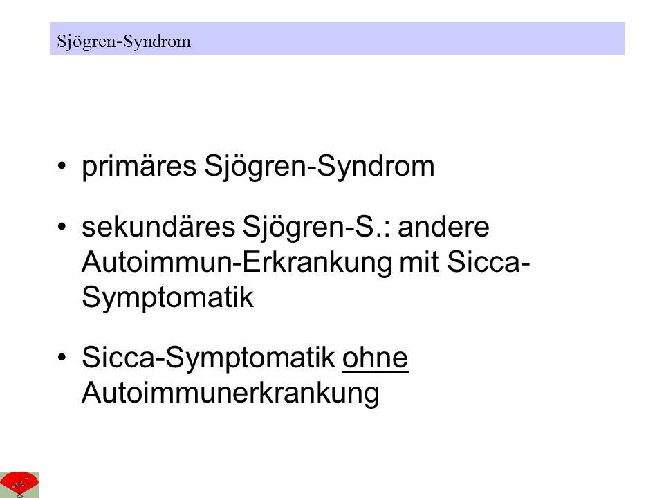 primäres Sjögren-Syndrom