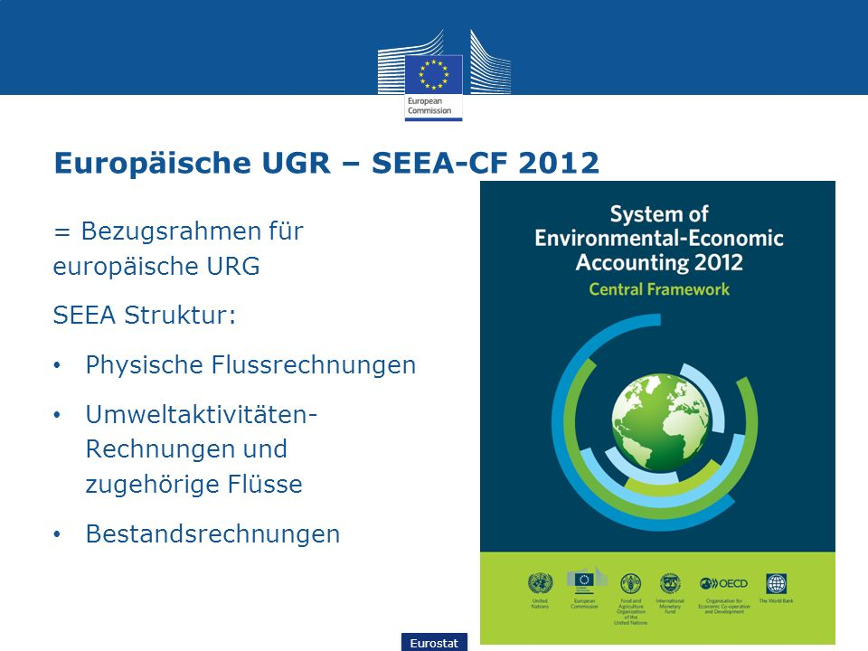Europäische UGR – SEEA-CF 2012