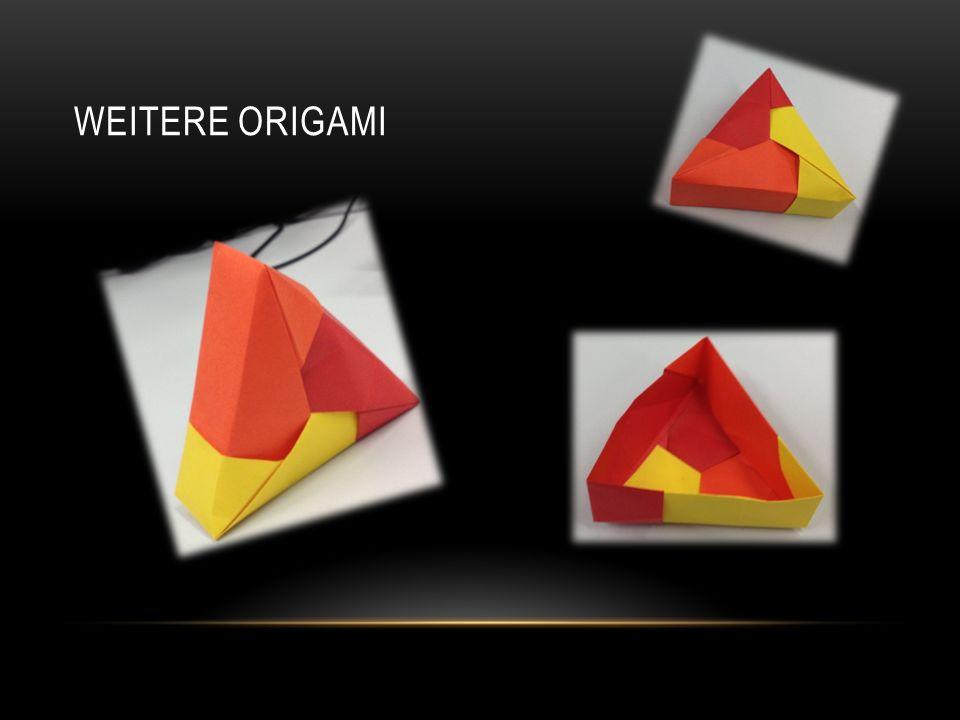 Weitere Origami