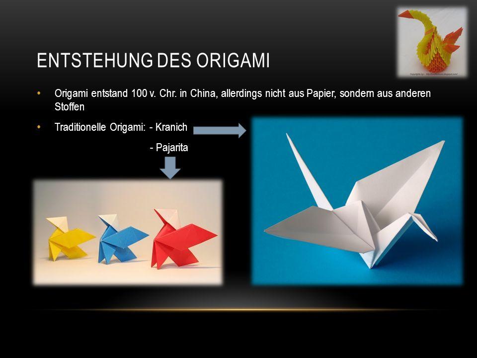 Entstehung des Origami