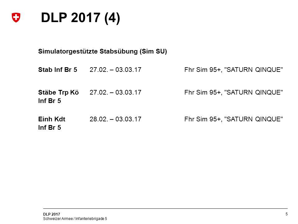 DLP 2017 (4) Simulatorgestützte Stabsübung (Sim SU)