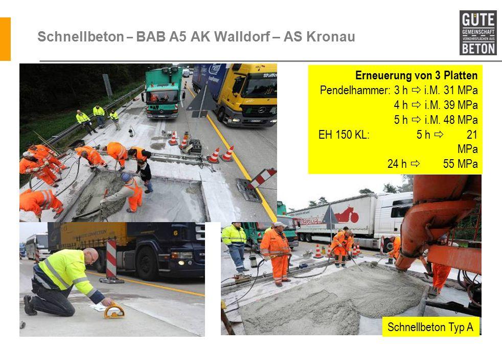 Schnellbeton – BAB A5 AK Walldorf – AS Kronau
