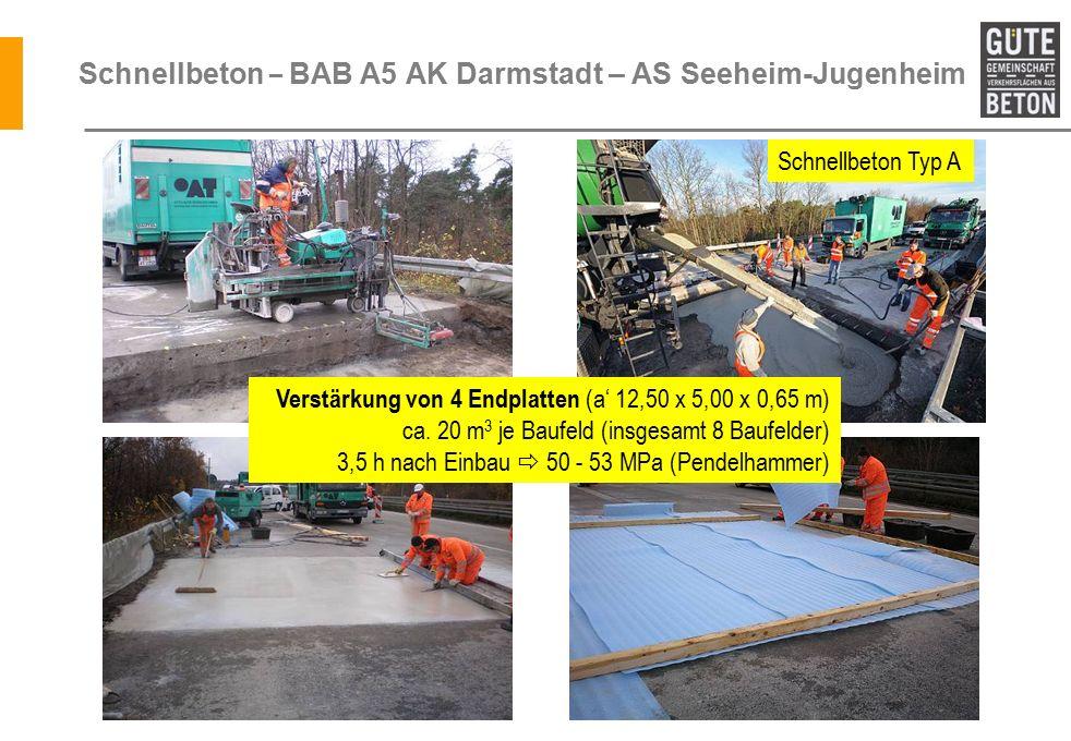 Schnellbeton – BAB A5 AK Darmstadt – AS Seeheim-Jugenheim