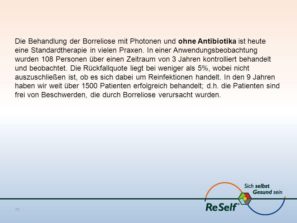 Die Behandlung der Borreliose mit Photonen und ohne Antibiotika ist heute eine Standardtherapie in vielen Praxen.