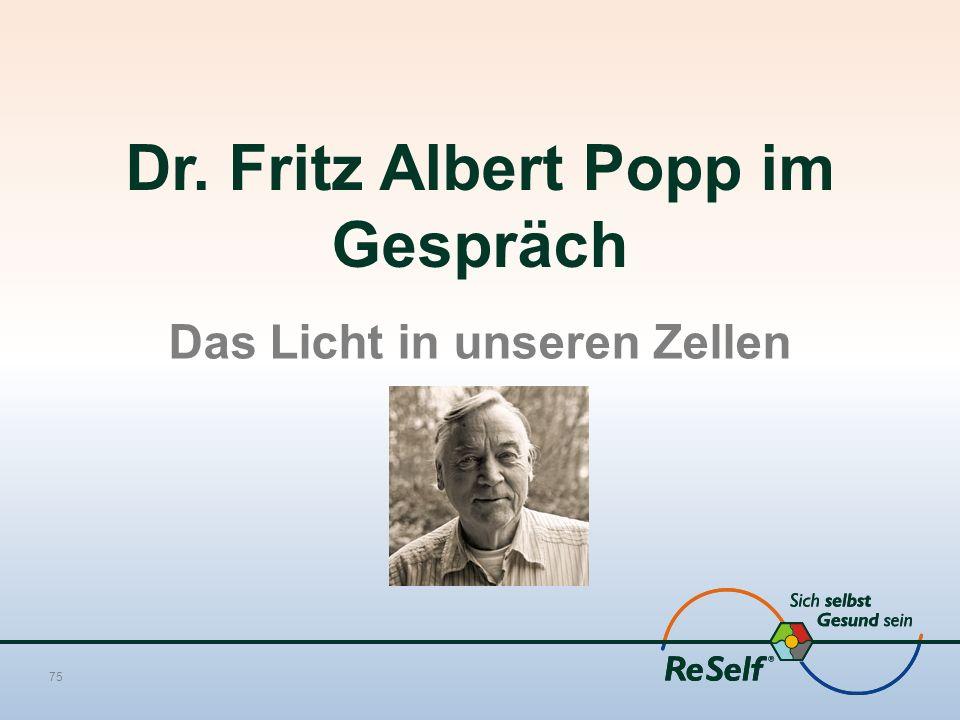Dr. Fritz Albert Popp im Gespräch