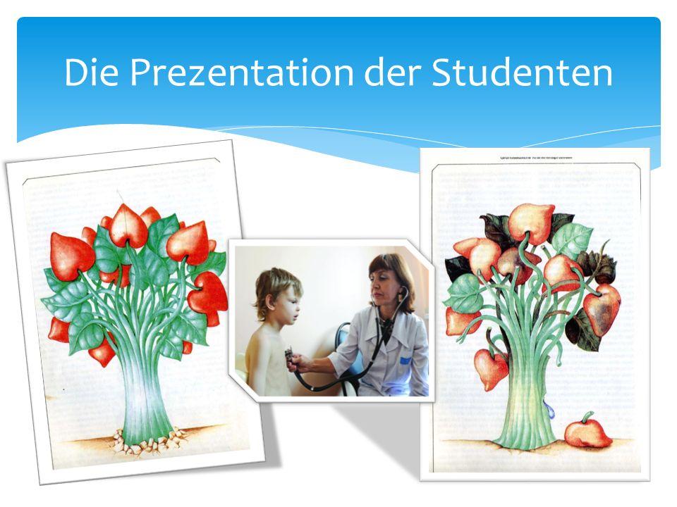 Die Prеzentation der Studenten