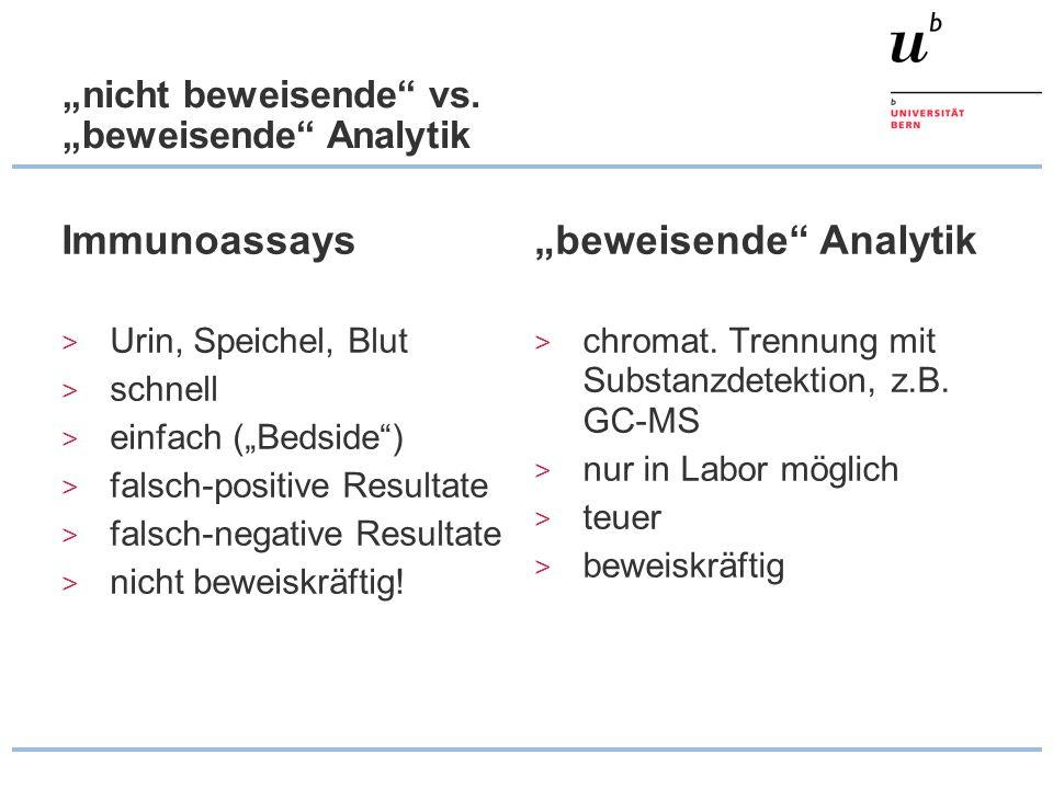 """""""nicht beweisende vs. """"beweisende Analytik"""