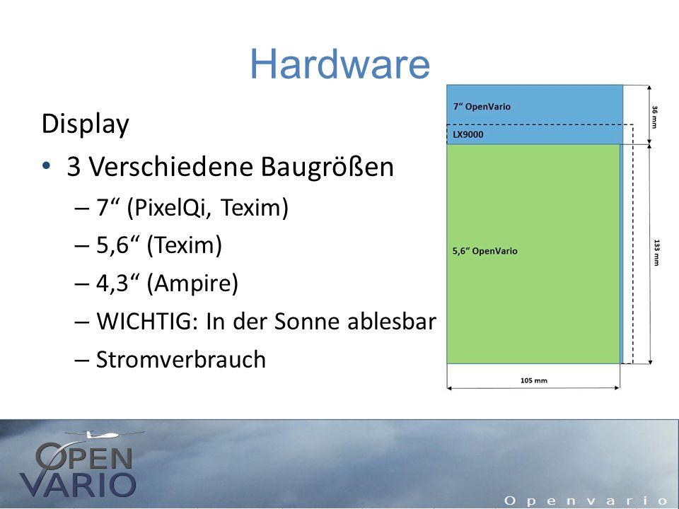 Hardware Display 3 Verschiedene Baugrößen 7 (PixelQi, Texim)
