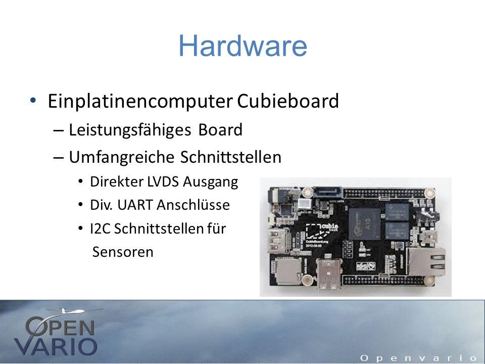 Hardware Einplatinencomputer Cubieboard Leistungsfähiges Board