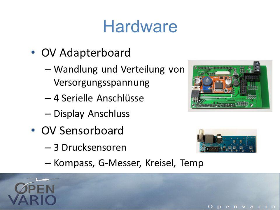 Hardware OV Adapterboard OV Sensorboard