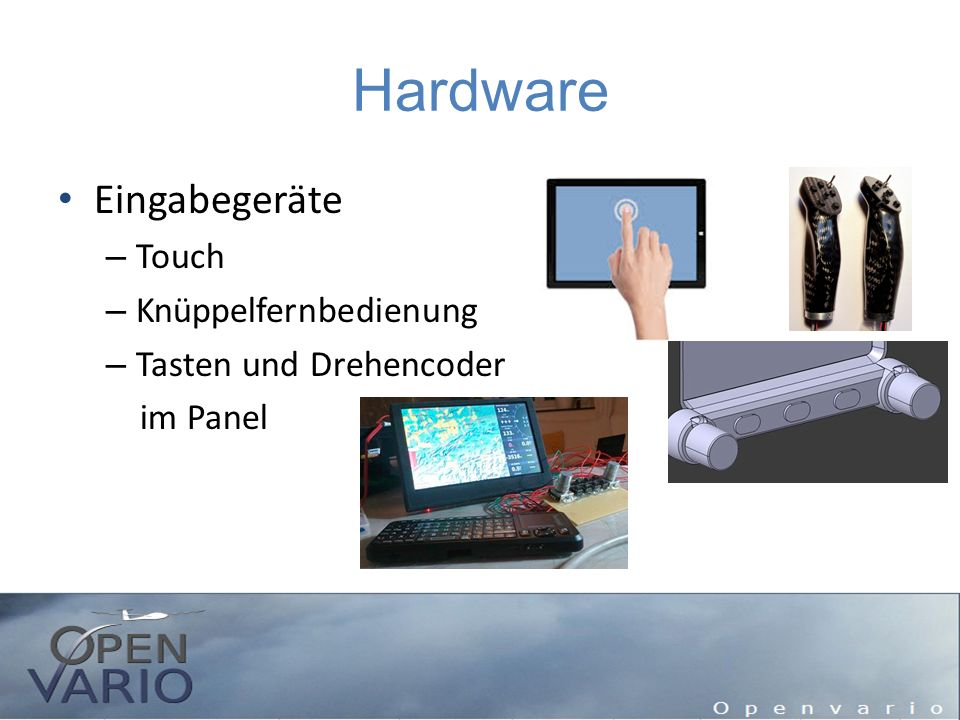 Hardware Eingabegeräte Touch Knüppelfernbedienung