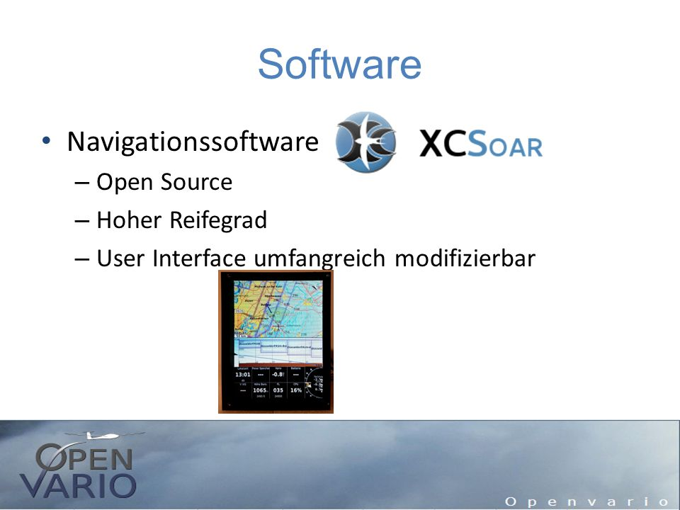 Software Navigationssoftware Open Source Hoher Reifegrad