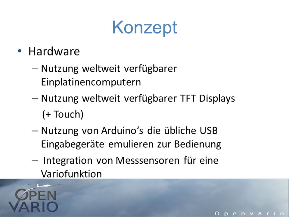 Konzept Hardware Nutzung weltweit verfügbarer Einplatinencomputern