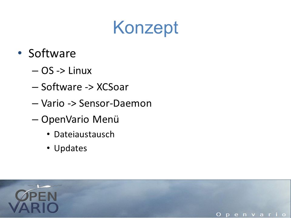Konzept Software OS -> Linux Software -> XCSoar