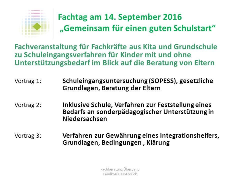 Fachberatung Übergang Landkreis Osnabrück