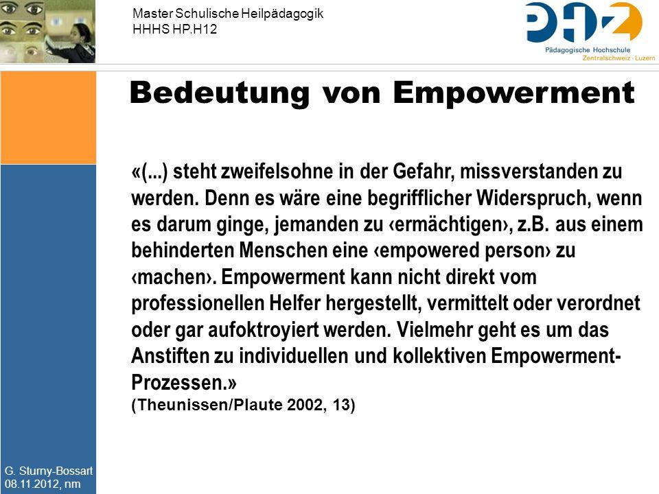 Bedeutung von Empowerment