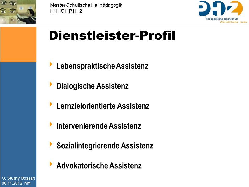 Dienstleister-Profil