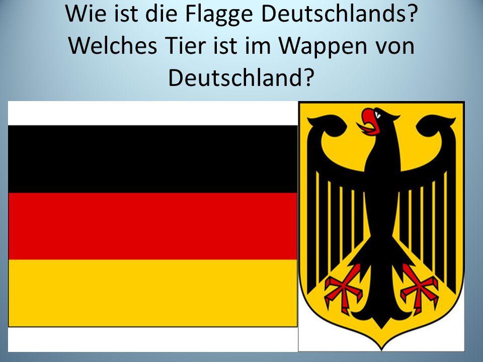 Wie ist die Flagge Deutschlands