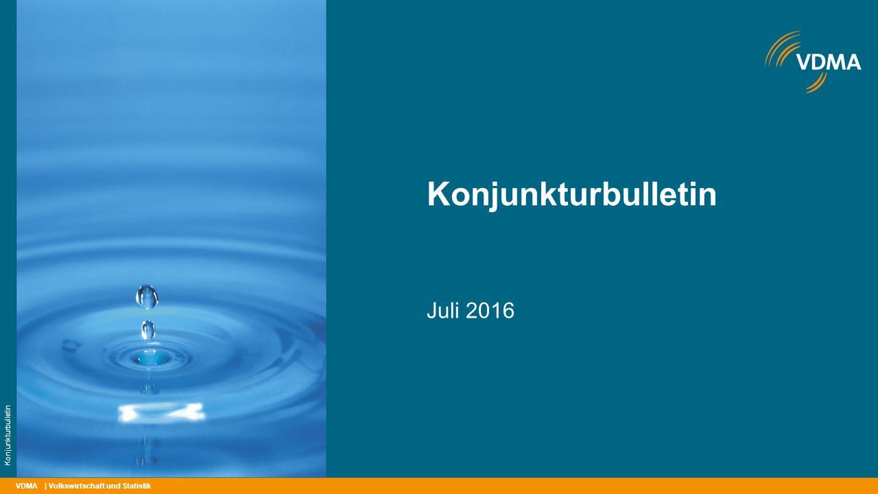 Konjunkturbulletin Juli 2016 Konjunkturbulletin