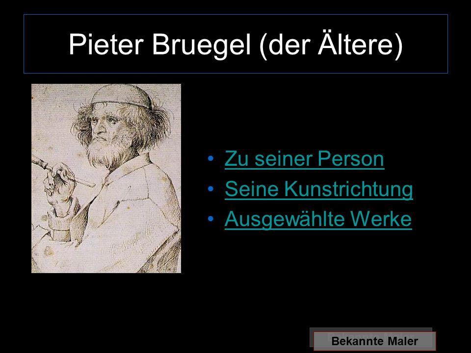 Pieter Bruegel (der Ältere)