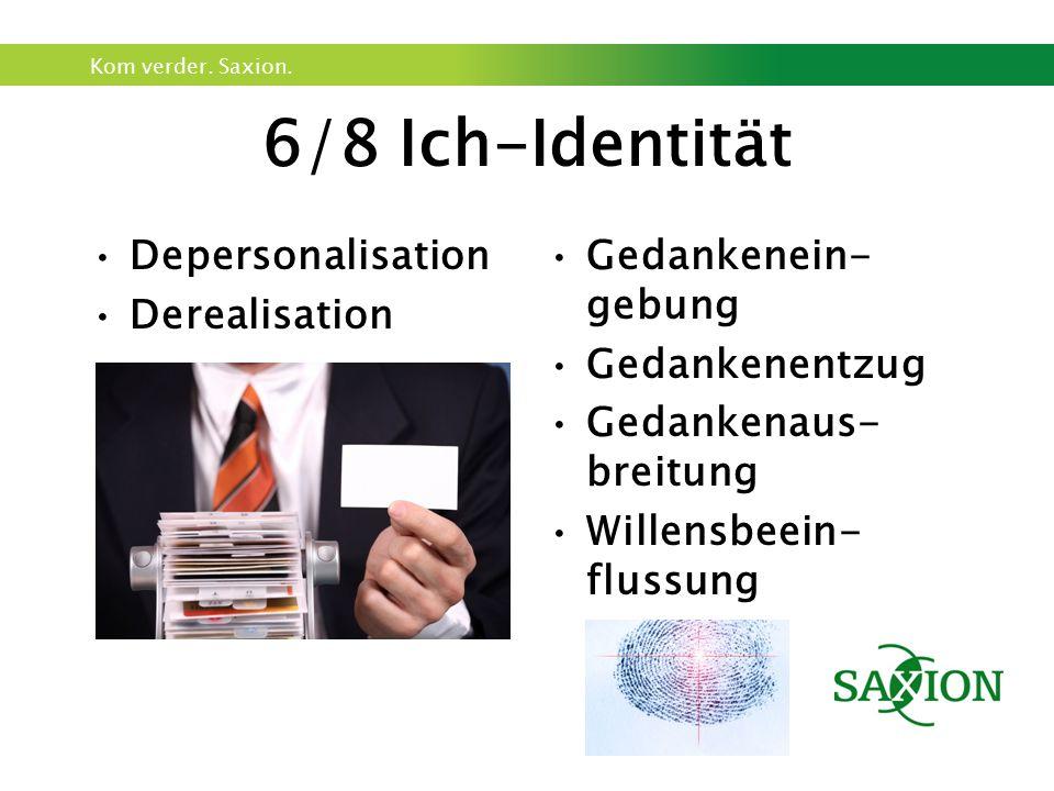 6/8 Ich-Identität Depersonalisation Derealisation Gedankenein-gebung