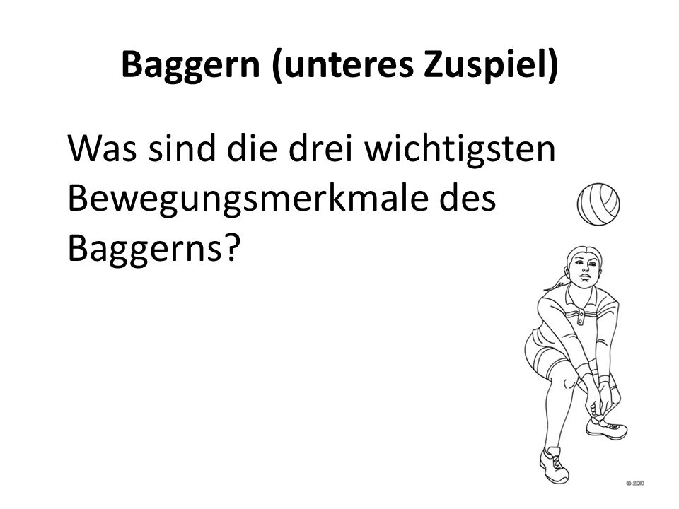 baggern volleyball übungen