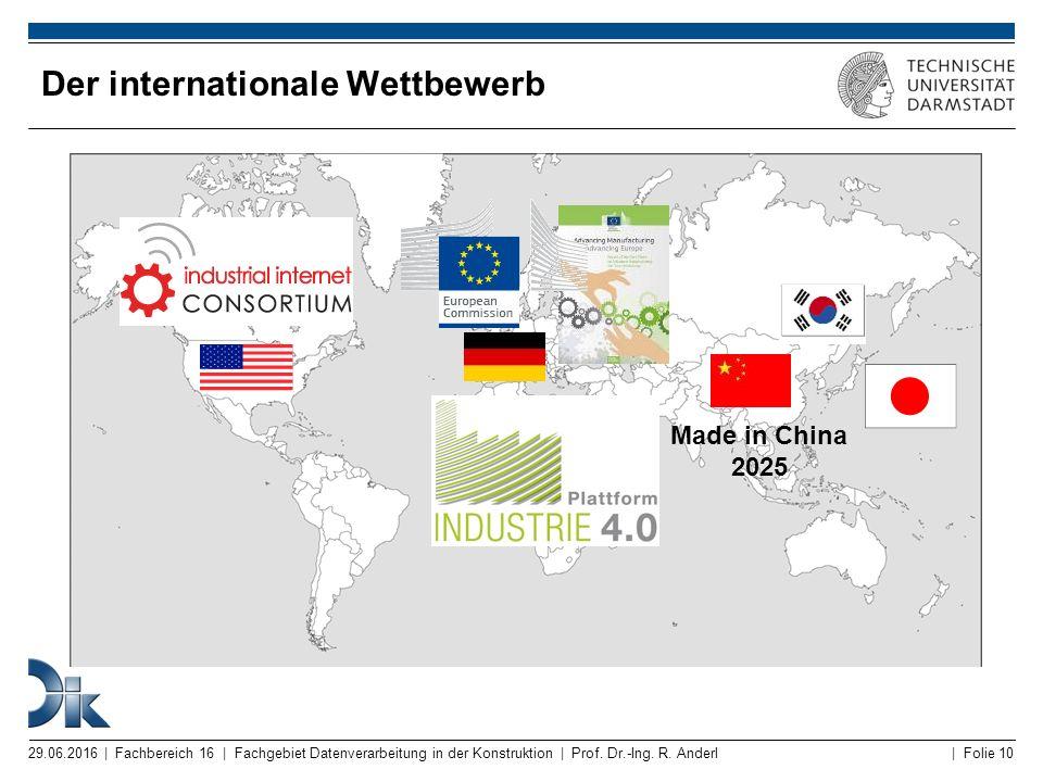 Der internationale Wettbewerb