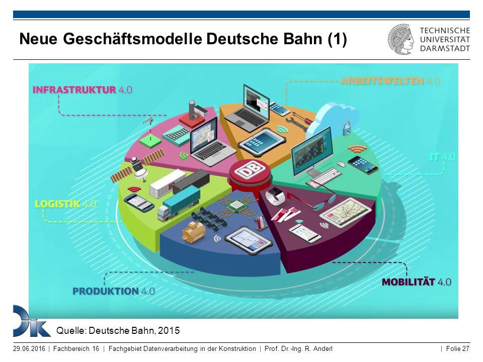 Neue Geschäftsmodelle Deutsche Bahn (1)