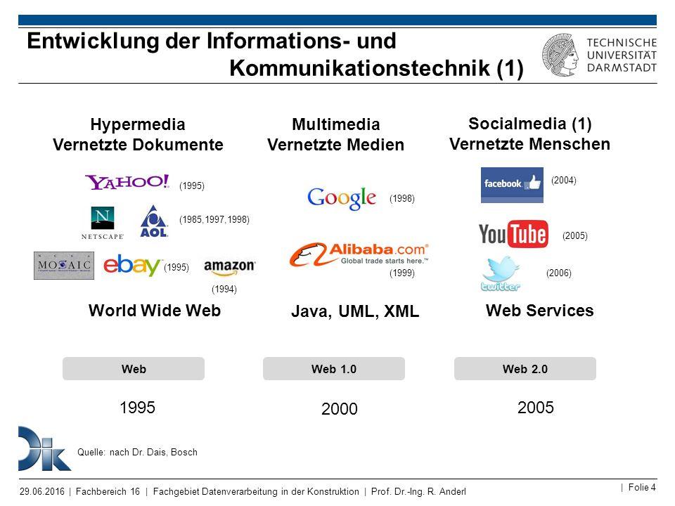 Entwicklung der Informations- und Kommunikationstechnik (1)
