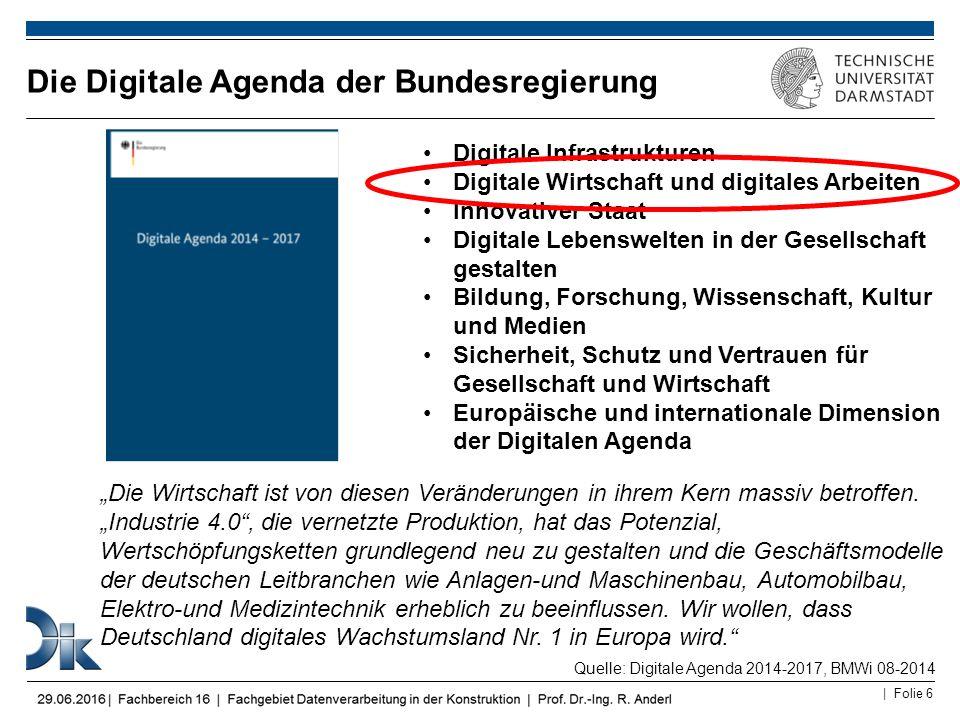 Die Digitale Agenda der Bundesregierung